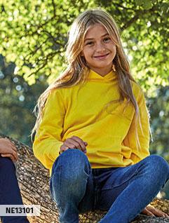 Otroške kosmatene majice s kapuco