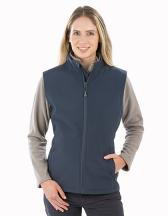 Women´s Recycled 2-Layer Printable Softshell Bodywarmer